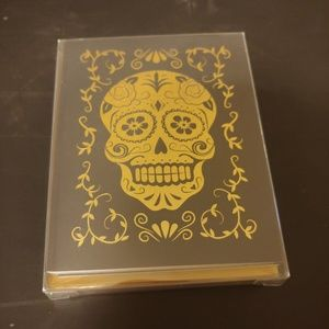 Other - 9 skull cards and gold envelopes